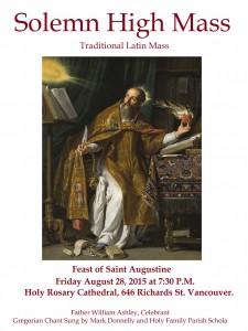 Latin Mass Poster